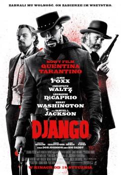 Polski plakat filmu 'Django'