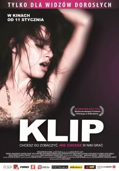 Polski plakat filmu 'Klip'