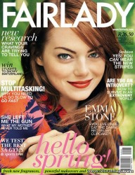 Emma Stone - Fairlady Sept 2013