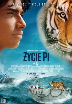 Polski plakat filmu 'Życie Pi'
