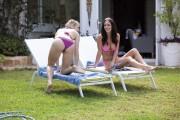 Rosie Jones & Nicole Neal - Bikini On Holiday Nuts Magazine August 2013 MQx 13