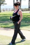 Jennifer Love Hewitt at a Park in Los Angeles on August 26, 2013