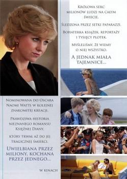Tył ulotki filmu 'Diana'