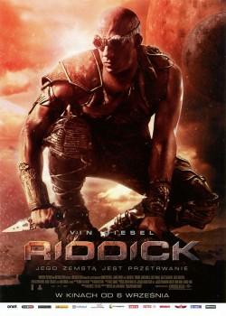 Przód ulotki filmu 'Riddick'