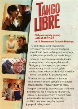 Tył ulotki filmu 'Tango Libre'