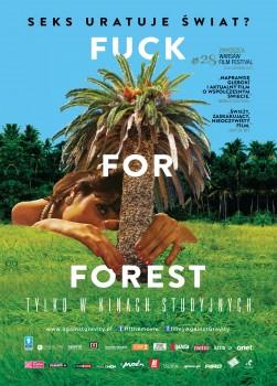 Przód ulotki filmu 'Fuck For Forest'
