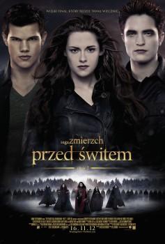 Polski plakat filmu 'Saga Zmierzch: Przed Świtem. Część 2'