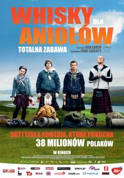 Polski plakat filmu 'Whisky Dla Aniołów'
