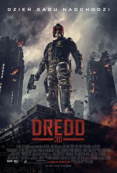 Polski plakat filmu 'Dredd'
