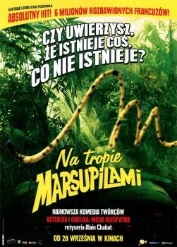 Przód ulotki filmu 'Na Tropie Marsupilami'