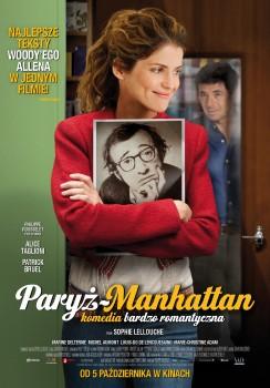 Polski plakat filmu 'Paryż - Manhattan'