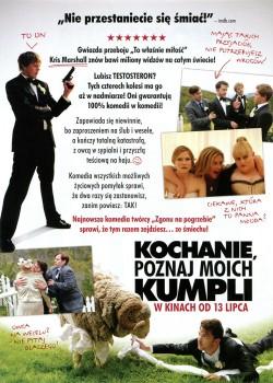 Tył ulotki filmu 'Kochanie Poznaj Moich Kumpli'