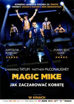 Przód ulotki filmu 'Magic Mike'