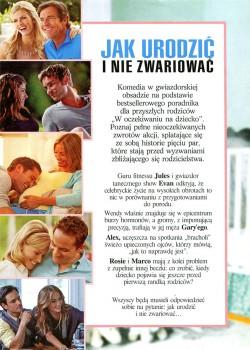 Tył ulotki filmu 'Jak Urodzić i Nie Zwariować'