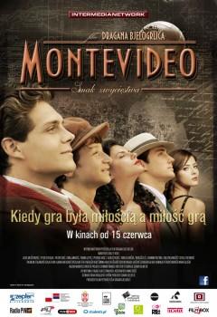 Polski plakat filmu 'Montevideo, Smak Zwycięstwa'