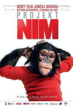 Przód ulotki filmu 'Projekt Nim'