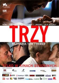 Przód ulotki filmu 'Trzy'
