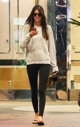Kendall Jenner leaving the movie theater in Calabasas 9/3/13