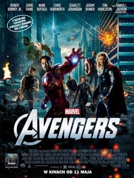 Polski plakat filmu 'Avengers'