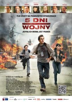 Polski plakat filmu '5 Dni Wojny'