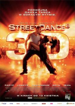 Przód ulotki filmu 'StreetDance 2'