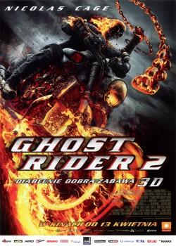 Przód ulotki filmu 'Ghost Rider 2'