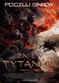 Przód ulotki filmu 'Gniew Tytanów'
