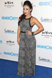 Francia Raisa - 5th Annual Night of Generosity Benefit in Beverly Hills 9/6/13