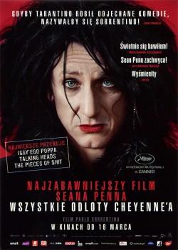 Przód ulotki filmu 'Wszystkie Odloty Cheyenne'a'