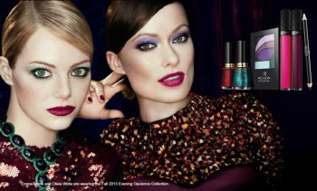 Emma Stone Revlon Fall 2013 Evening Opulence Collection (1 pic)