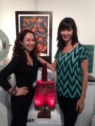 Catherine Bell - Marlene Rose at LA Art Show 27.1.2013