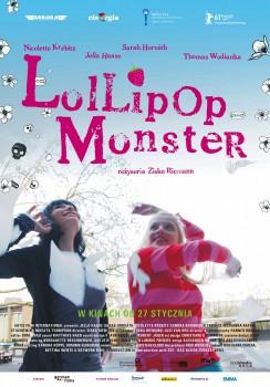 Polski plakat filmu 'Lollipop Monster'