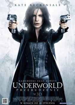 Polski plakat filmu 'Underworld: Przebudzenie'