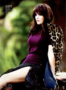 Gemma Arterton InStyle Magazine October 2013