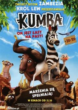 Przód ulotki filmu 'Kumba'
