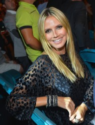 Heidi Klum - at the Mayweather Jr. vs Alvarez boxing match in Las Vegas 9/14/13