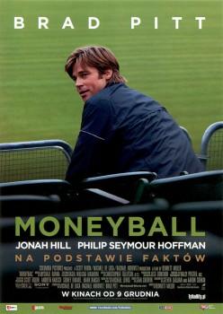 Przód ulotki filmu 'Moneyball'
