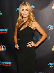Heidi Klum - America's Got Talent Season 8 Red Carpet Event in NYC 9/17/13
