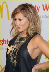 Adrienne Bailon - Mcdonald's Mighty Wings Launch in NYC 9/15/13