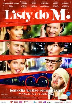 Polski plakat filmu 'Listy Do M.'