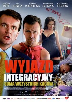 Przód ulotki filmu 'Wyjazd Integracyjny'