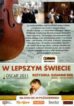Tył ulotki filmu 'Siostra Mozarta'