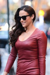 Paula Patton - leaving her hotel in NYC 9/18/13
