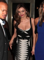 Miranda Kerr - Romeo & Juliet opening night after party in NYC 9/19/13