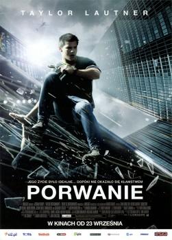 Przód ulotki filmu 'Porwanie'