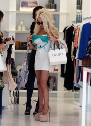 Courtney Stodden - Shopping at DASH in LA 9/25/13