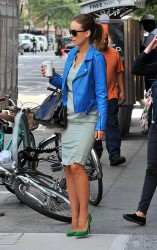 Olivia Wilde - out in NYC 9/26/13