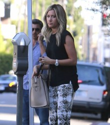 Ashley Tisdale - Shopping in Beverly Hills 9/26/13