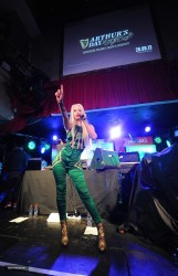 Iggy Azalea - Guinness Celebrates Arthur's Day at Whelan's in Dublin 9/26/13