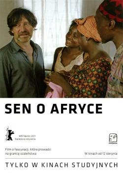 Przód ulotki filmu 'Sen O Afryce'
